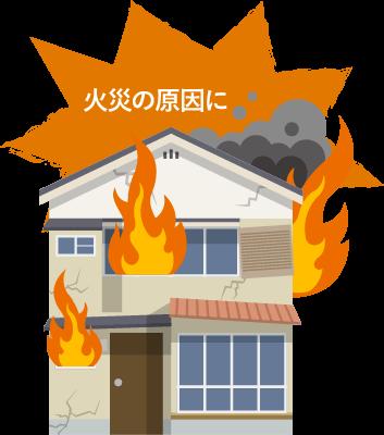 〜火災の原因となるデメリット〜
