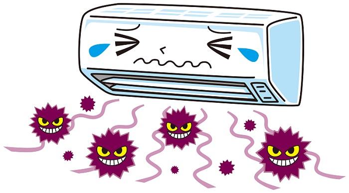 エアコンのカビが健康を脅かす!今すぐできるカビ対策1